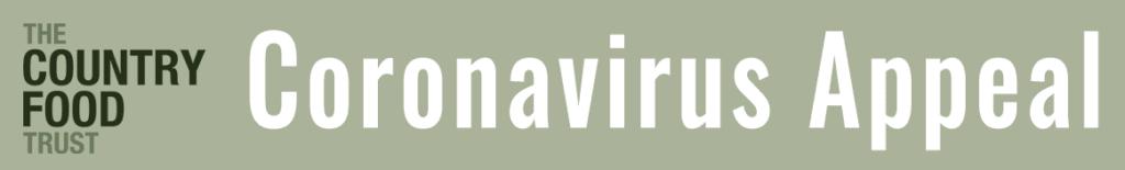 Coronavirus Appeal Header